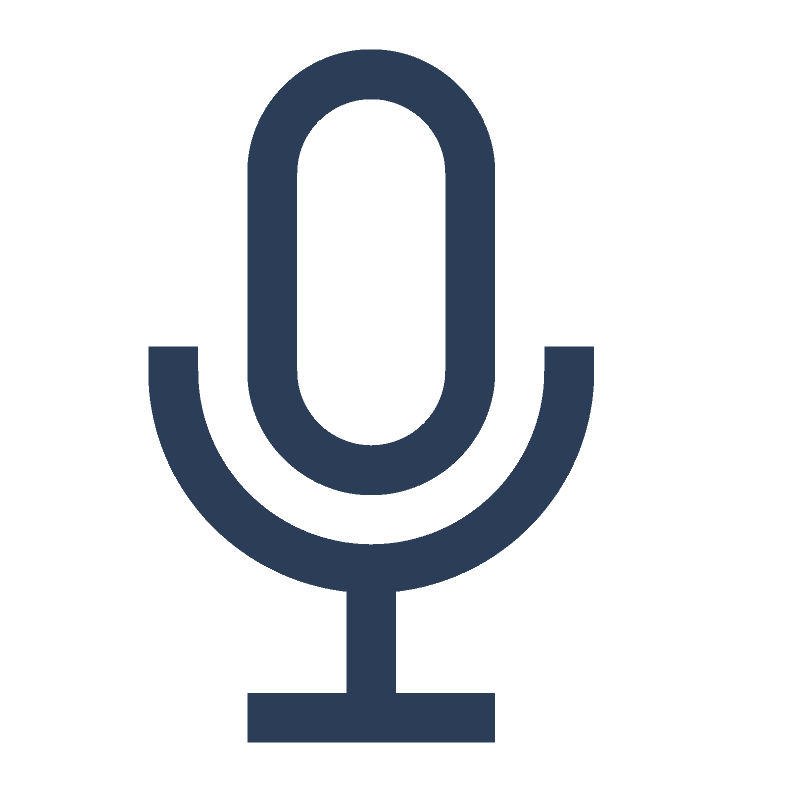 microphone glyph